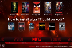 ultra tt build kodi