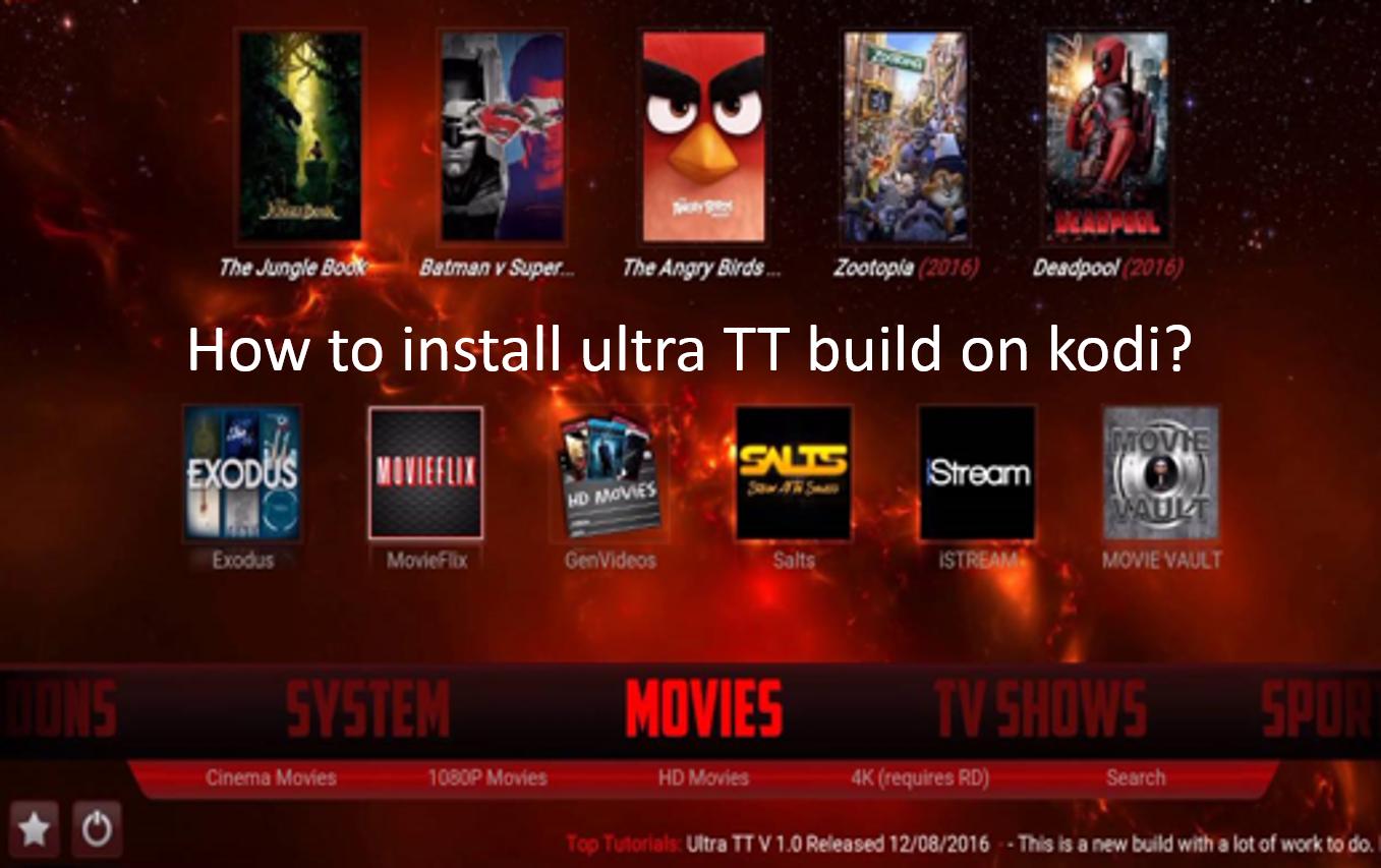 ultra tt build kodi