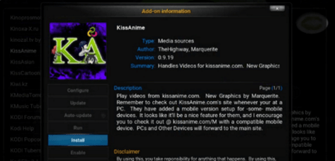 kissanime kodi build