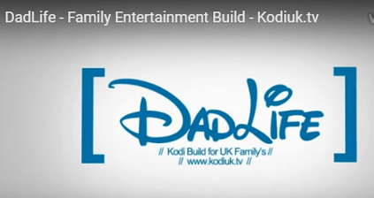dad life best kodi build