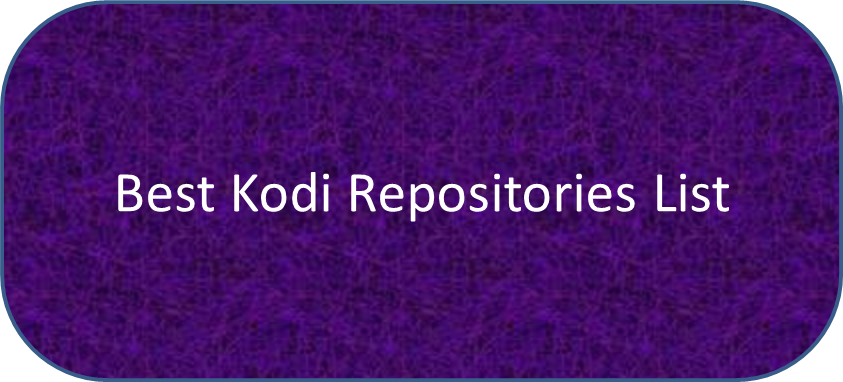 how to clear repositories in kodi