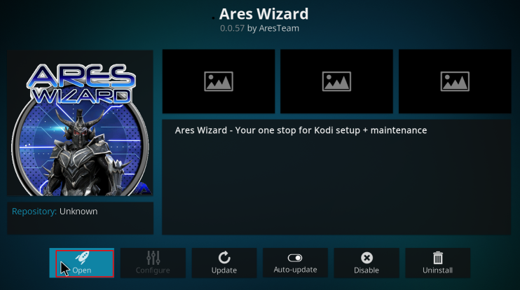 ARES Wizard