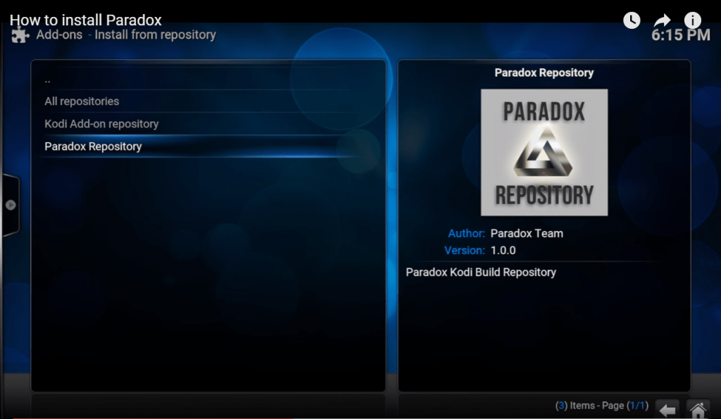 How to install paradox kodi wizard 2019 + Fix not working issues
