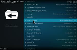 Chrome launcher kodi addon installation guide for krypton 2019