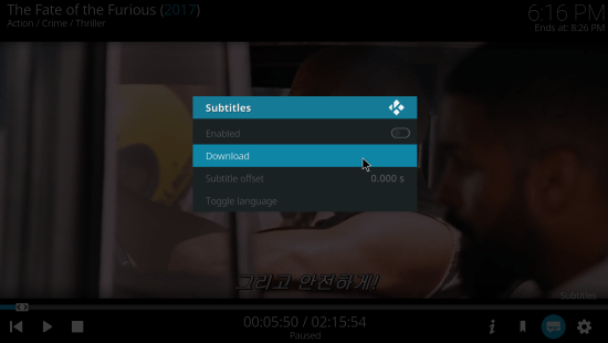 Opensubtitles kodi subtitles addon - How to install & use