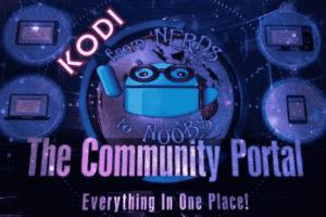 community portal kodi addon
