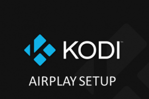 kodi airplay configuration