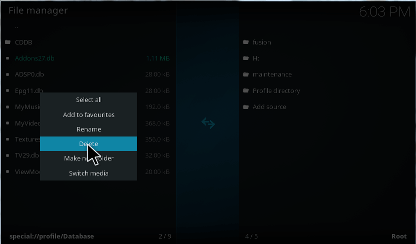 fix kodi failed to install a dependency error