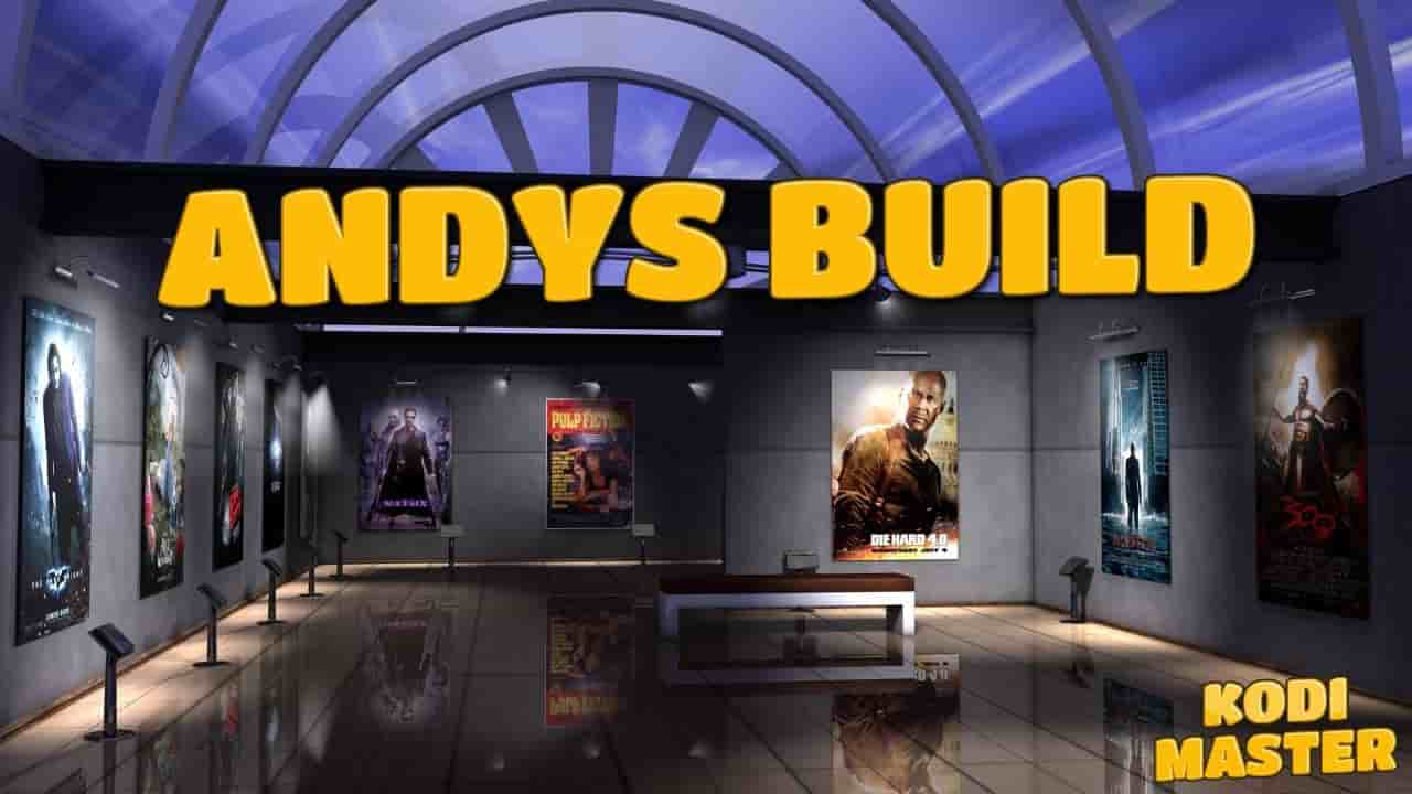 Kodi andys build installation & how to use guide for krypton 17