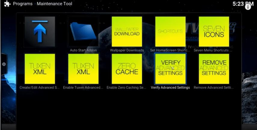 kodi zero cache
