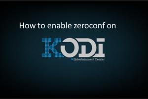 zeroconf kodi