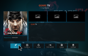 Gears Tv Kodi addon installation for IPTV in krypton 17