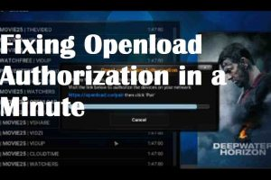 openload.com pair kodi fix