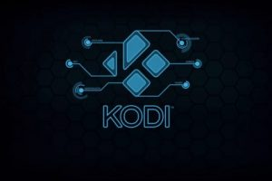 kodi black screen