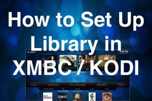 kodi library setup guide