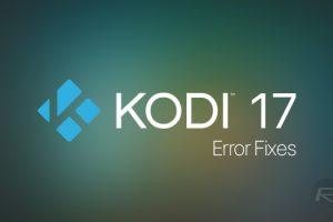 kodi troubleshooting
