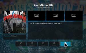 sportsnation hd kodi addon