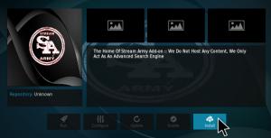 stream army kodi addon