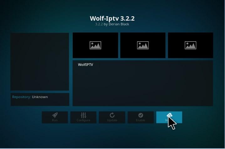 wolf iptv kodi addon