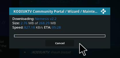 kodi how to download nemesis