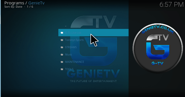 Genie TV kodi addon installation guide and review - Kodiforu