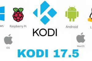 update kodi version 17.5