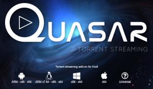 You can now stream torrents on kodi using the Quasar addon - Kodiforu