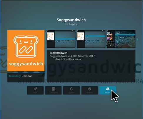 Soggysanwitch Kodi addon Installation guide and review