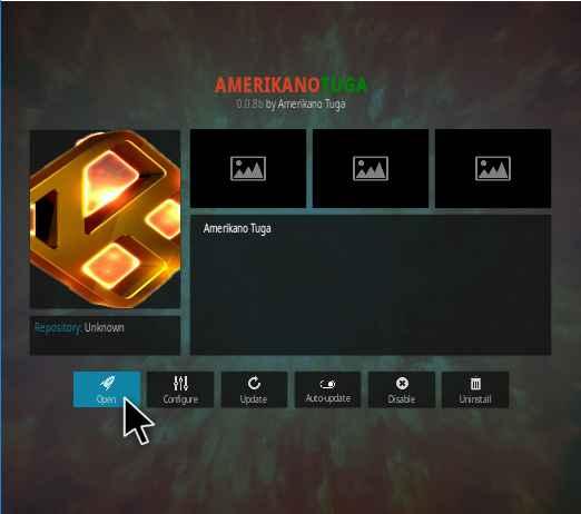 Amerikanotugo Kodi addon Installation guide and review