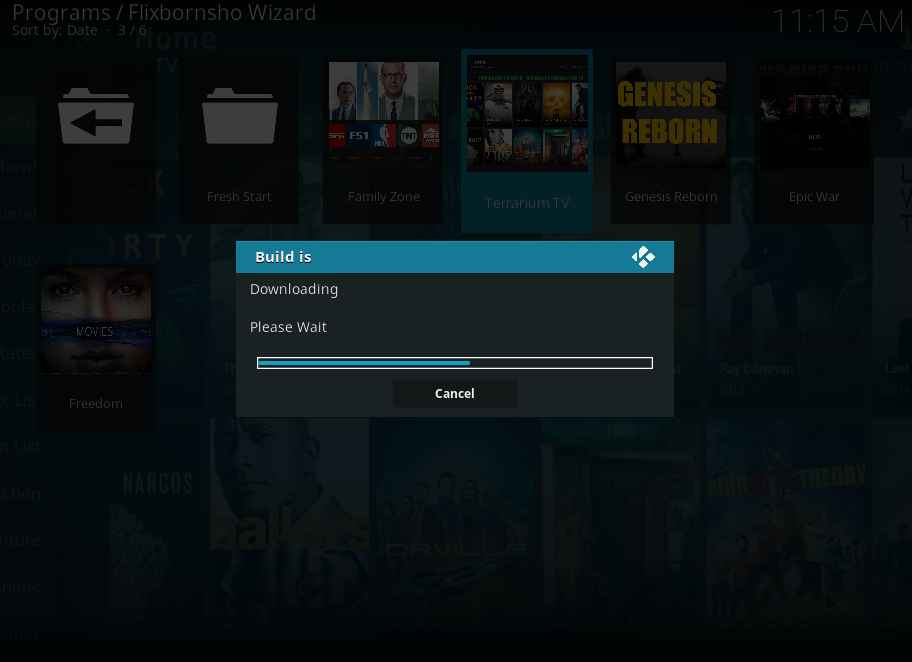 Terrarium TV Kodi Build installation procedure and special features